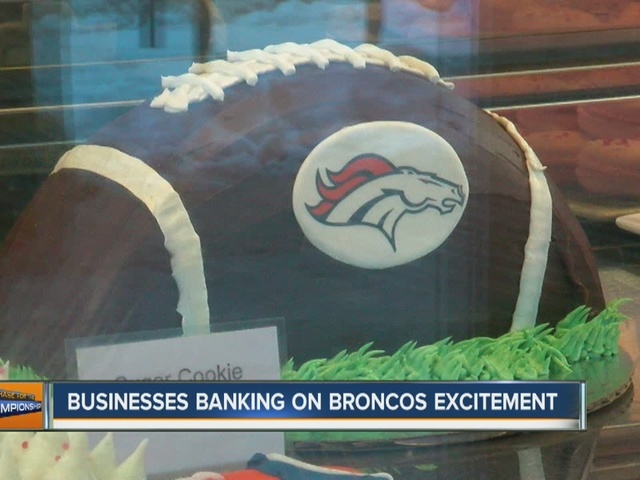 Denver businesses get ready for busy Super Bowl Sunday