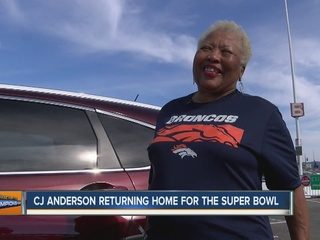 CJ Anderson's grandma ready for Sunday's game