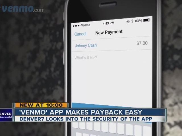 Money transfer app 'Venmo': How safe is it?