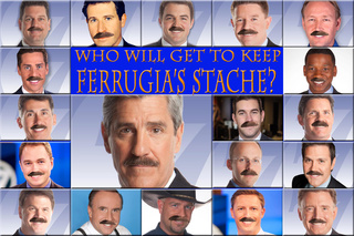 Ferrugia's mustache could find a new home