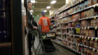 Stores packed ahead of Super Bowl Sunday