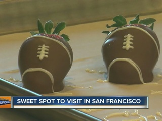 Denver7 visits Ghirardelli chocolate factory