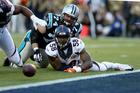 Defense helping Broncos lead Panthers 13-7