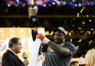 Von Miller wins MVP honors at Super Bowl