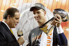 Peyton's 'Budweiser' mentions a retirement hint?