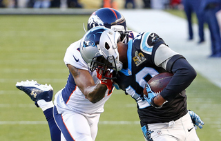 PHOTOS: Big plays in Broncos-Panthers game