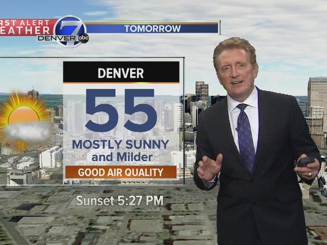 50's and 60's in Denver Metro Area for the week