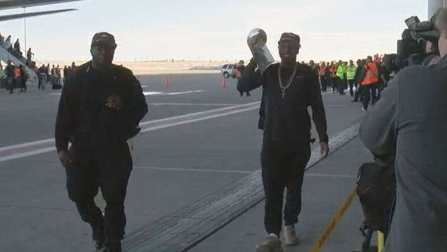 WATCH LIVE: Broncos return to Denver
