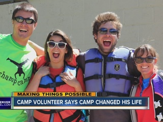 Volunteer remembers life changing summer camp