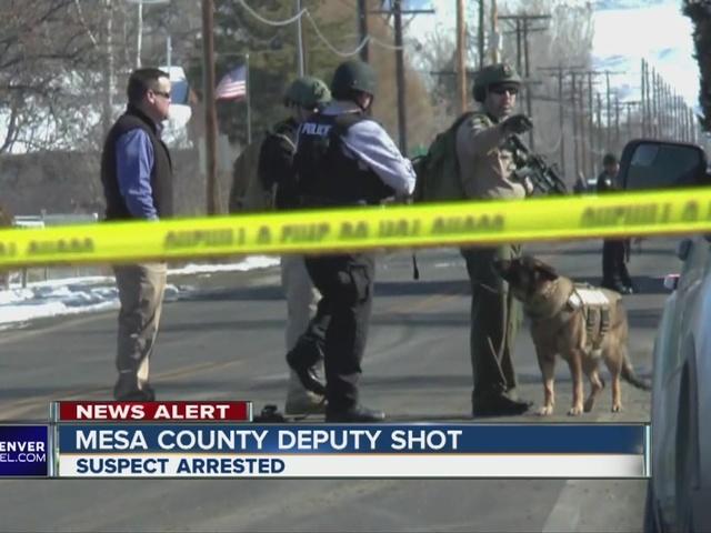 Mesa county Sheriff's Deputy Shot
