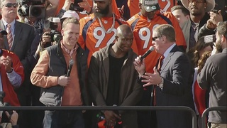 WATCH AGAIN: Broncos Super Bowl rally highlights