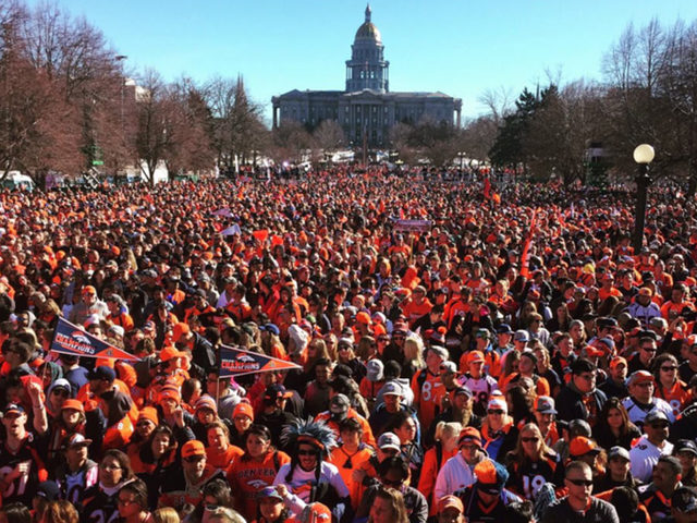 WATCH LIVE: Broncos Super Bowl Parade & Party!