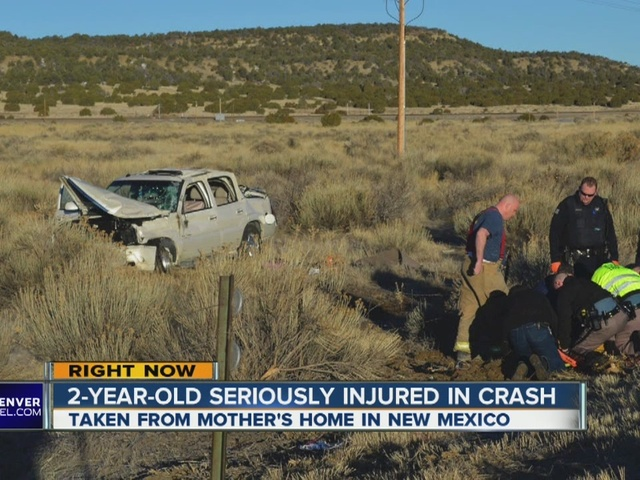 Abducted girl thrown from SUV in Colorado crash