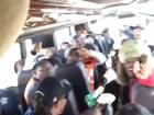 VIDEO: Fun on Broncos team bus on way to parade