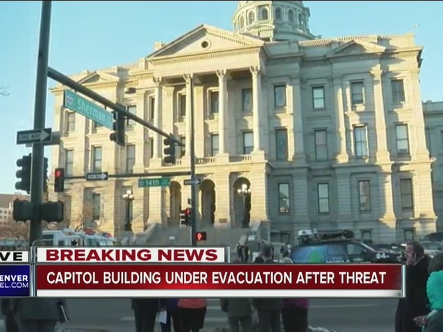 State Capitol evacuated after bomb threat