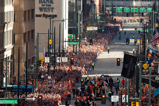 1 million Broncos fans showed up for parade