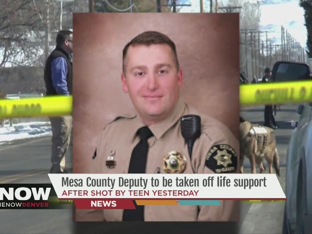 Mesa County Deputy to be taken off life support