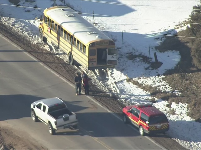 RAW VIDEO: Bus crash in Douglas County