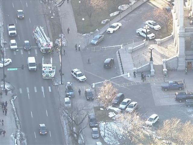 RAW VIDEO: State Capitol evacuated after threat