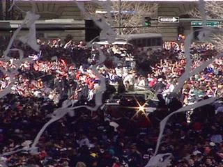 WATCH: Broncos '98 victory parade