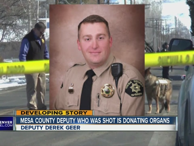 Wounded Mesa County deputy to be taken off life support