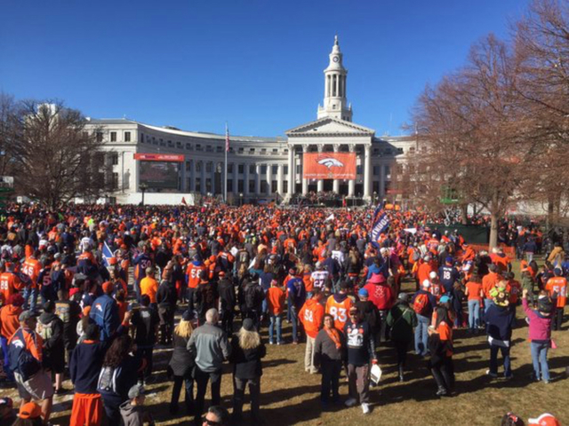 WATCH LIVE: Broncos victory celebration & parade
