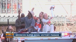 PICTURES: Victory parade and rally