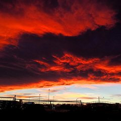 Fiery sunset adorns Colorado sky on Feb. 11