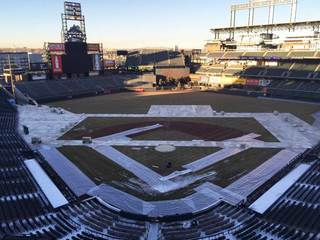 Coors Field being converted into hockey stadium