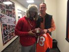 Fowler gives Manning 'last completion' ball