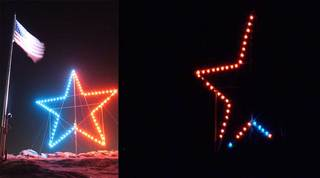 Fire Dept: Castle Rock star lights vandalized