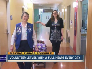 Grandchild's illness leads to volunteer work