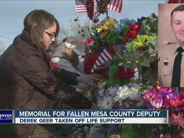Memorial for fallen Mesa County deputy