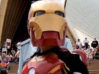 9-yr-old with cystic fibrosis becomes 'Iron Boy'