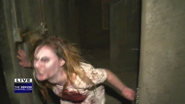 Skip romance and get spooked at denver 39 s 13th floor for 13th floor dallas haunted house