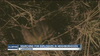 Military to search Lakewood yards for munitions