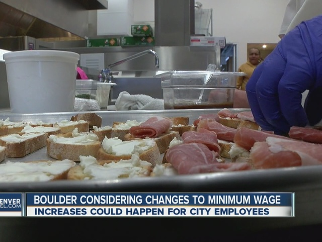 Boulder considering changes to minimum wage