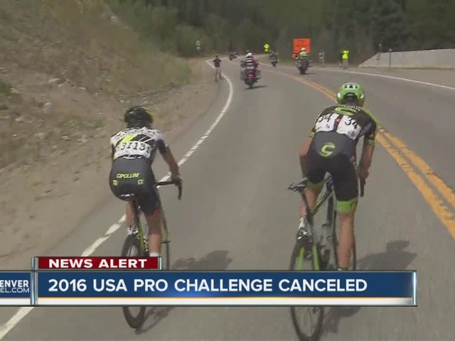 The 2016 USA Pro Challenge has been canceled