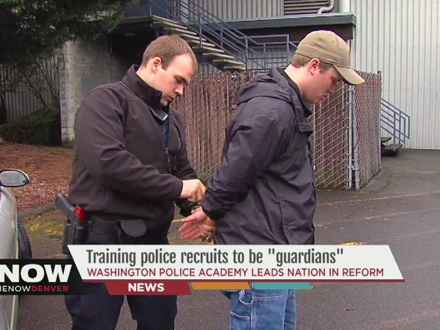 Training police recruits to be