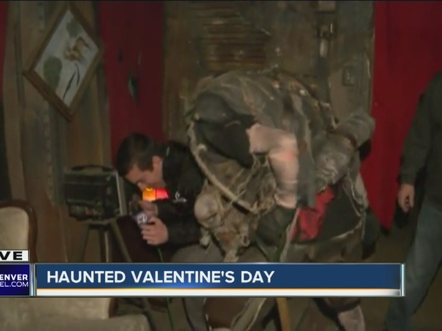 Valentine's Day horror house in Denver... Reporter Jason Gruenauer…