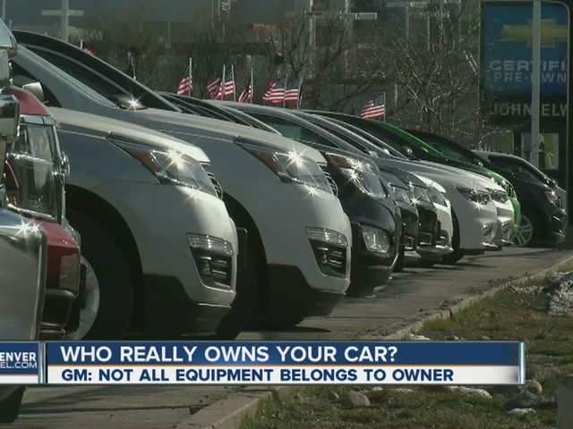 Who really owns your car?