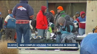 New complex housing the homeless in Denver