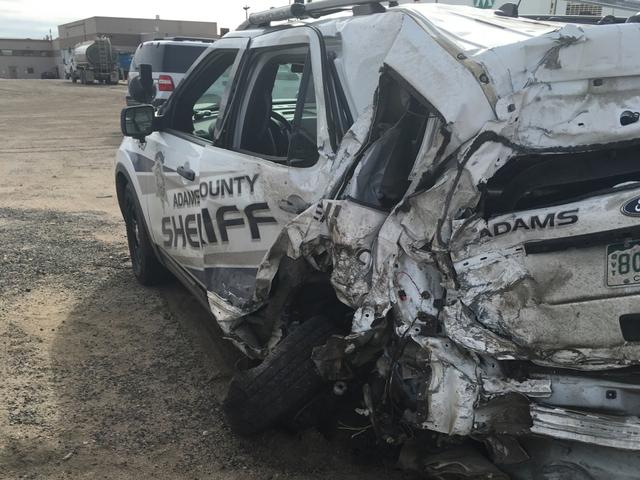DUI driver sentenced in crash with patrol car