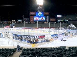 NHL Stadium Series at Coors Field this weekend!
