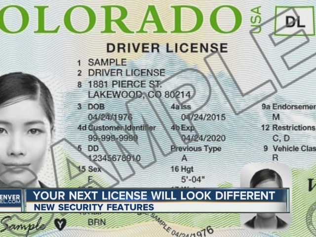 New look for colorado driver licenses denver7 for Colorado one day fishing license