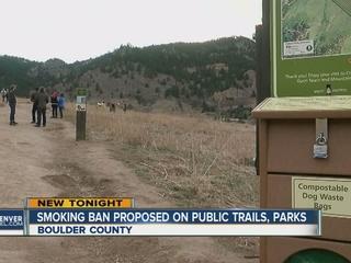 Boulder considers parks, trails smoking ban