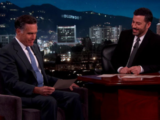 Mitt Romney reads 'mean tweets' targeted at him