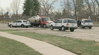 Stolen Pizza delivery vehicle involved in chase
