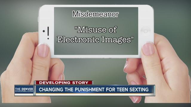 crime penalties juvenile sexting