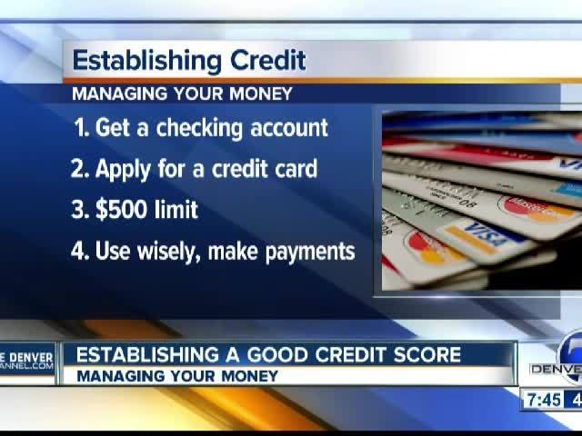 Establishing a Good Credit Score